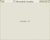 Thread counter